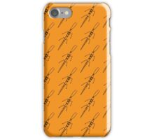 Pattern with beetle iPhone Case/Skin