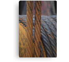 Rolled Cables Canvas Print
