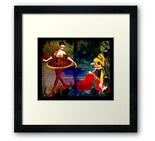 THE OLDEST TALE IN THE BOOK Framed Print
