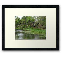Remote Africa Framed Print
