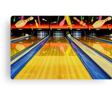 Waiting For You In The Alley Canvas Print