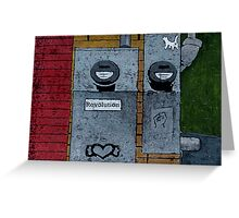 Love:Revolution (Division St., Portland) Greeting Card