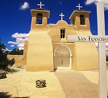 San Francisco de Asis Church by Bob Christopher