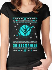 shieldmaiden for the holidays #2 Women's Fitted Scoop T-Shirt