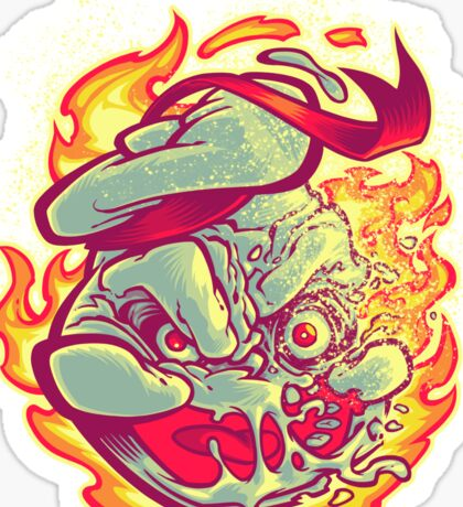 ROASTED MARSHMALLOW MAN Sticker