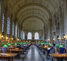 Boston Library by jswolfphoto