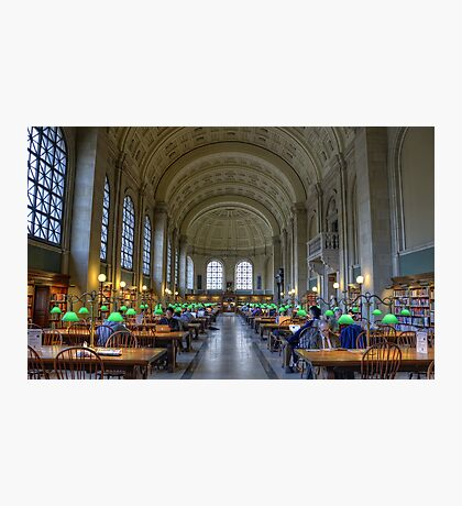 Boston Library Photographic Print
