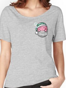 Pocket Kirby  Women's Relaxed Fit T-Shirt
