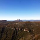 Beautiful Tasmania - Alpine landscape from the air by georgieboy98