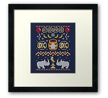 Kong Sweater Framed Print