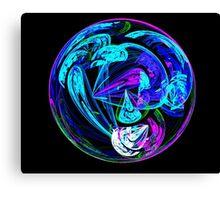 Blue Ball Canvas Print