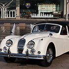 Jaguar XK 140 by dlhedberg