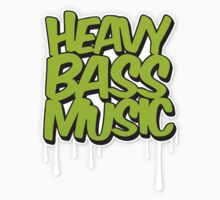 HEAVY BASS MUSIC / TRAP / DUBSTEP / DNB / TECHNO Baby Tee