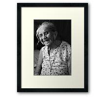 Antonia's new gift Framed Print