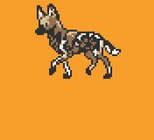 8bit African Wild Dog T-Shirt