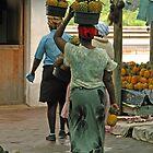 Market day by Dan MacKenzie