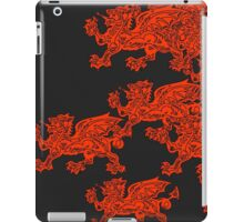 Red hearth iPad Case/Skin