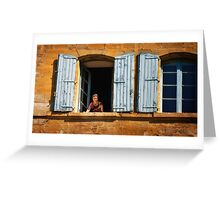 Bonjour Provence! Greeting Card