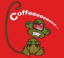 Coffee Monkey - Monday mornings... Baby Tee