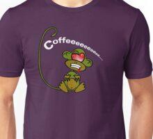 Coffee Monkey - Monday mornings... Unisex T-Shirt
