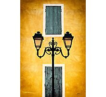 Streetlights of Provence Photographic Print