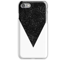 Black Starry Triangle iPhone Case/Skin