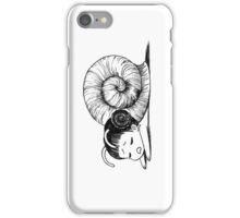 Snailgirl iPhone Case/Skin