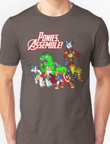 Ponies, assemble! T-Shirt