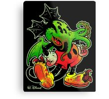 MICKHULHU MOUSE (color) Metal Print