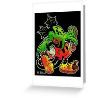 MICKHULHU MOUSE (color) Greeting Card
