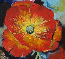 Poppy by Michael Creese