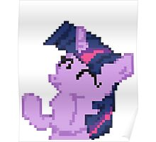 Twilight Sparkle Pixel my little pony Brony Pegasister Poster