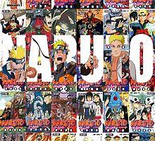 Naruto's Manga Legacy by ProdigyJin