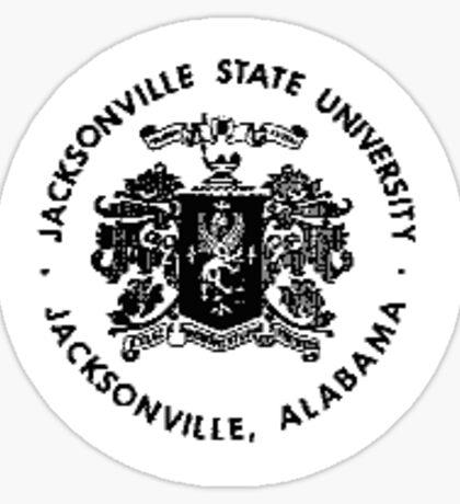Jacksonville State University Emblem Sticker