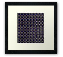 Kaleidoscope 24 Pattern Framed Print