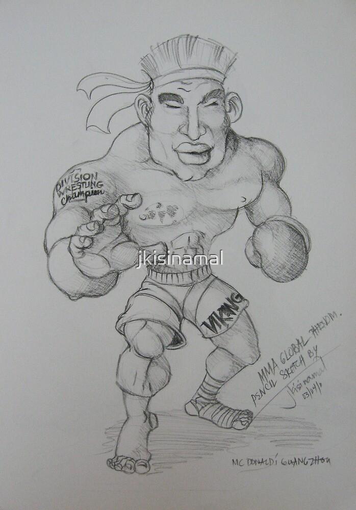 'MMA Fighter' by jkisinamal