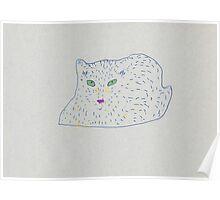 furry cat Poster
