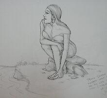 'Woman taking a bath' by jkisinamal