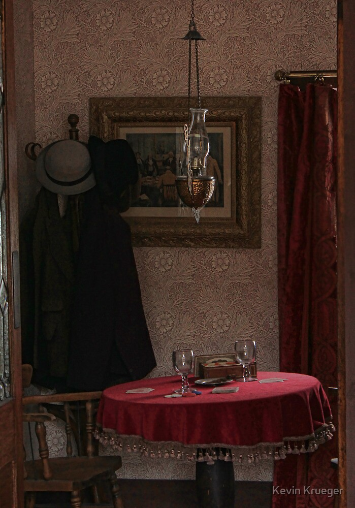 The crooked game in Denny's Saloon by Kevin Krueger