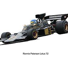 Lotus 72 Ronnie Peterson by jonbunston