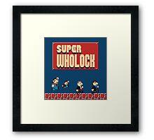 Super Wholock Framed Print