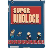 Super Wholock iPad Case/Skin