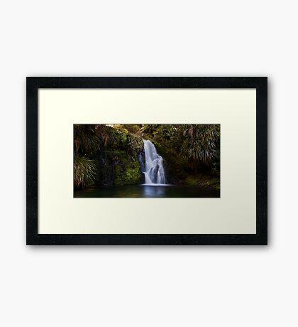 Whataroa Falls Framed Print