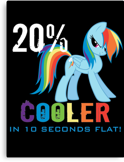 20% cooler in 10 seconds flat by kidomaga