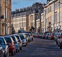 City Street by Steve Randall