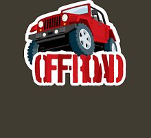 Red 4X4 off-road Jeep Unisex T-Shirt