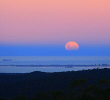 Super Moon Rising by Jill Fisher