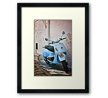 Vespa Scooter Framed Print