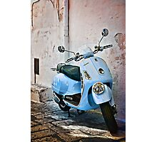 Vespa Scooter Photographic Print