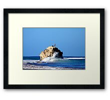 Fishing with a Difference Framed Print